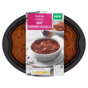 Waitrose Indian Beef Pepper Masala