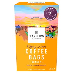 Taylors Flying Start Coffee Bags 10s