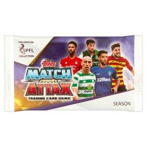 SPFL Match Attax Card Pack