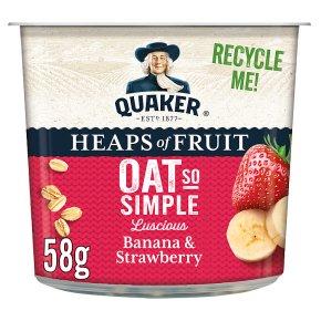 Quaker Oat So Simple Pot Banana & Strawberry