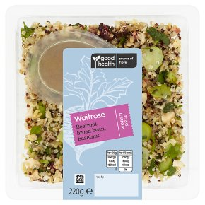 Waitrose World Deli Beetroot, Broad Bean, Hazelnut