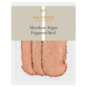 Waitrose 1 AA Peppered Beef