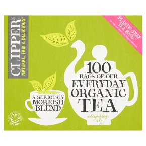 Clipper 100 Everyday Teabags