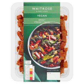 Waitrose Vegan Streaky Pieces