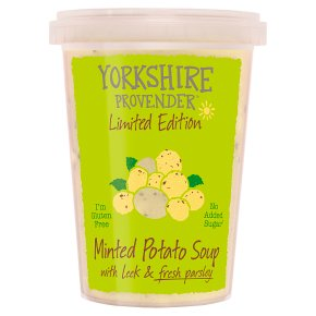 Yorkshire Provender Minted Potato Soup with Leek & Parsley