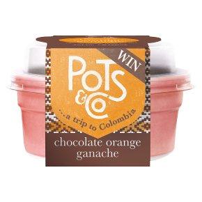 Pots & Co Chocolate & Orange Pot