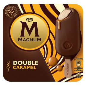 Magnum 3 Double Caramel Ice Creams