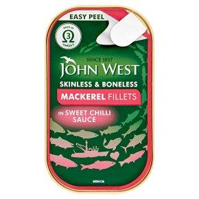 John West Mackerel Fillets Sweet Chilli