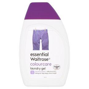 essential Waitrose Colourcare Laundry Gel 18 Washes