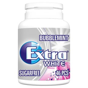 Wrigley's extra white bubblemint