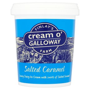 Cream o' Galloway Salted Caramel Ice Cream