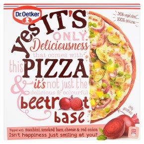 Dr. Oetker Yes It's Pizza Beetroot Based Ham & Vegetable Pizza
