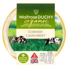 Waitrose Duchy Organic Cornish Camembert