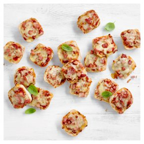 24 Children's Mini Cheese & Ham Panini Pizzas