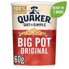 Quaker Oats Oat So Simple Original Big Pot