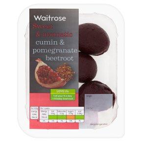 Waitrose cumin & pomegranate beetroot