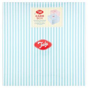 Tala 12 blue cake box candy stripe
