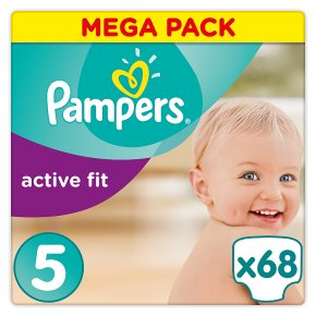 Pampers Active Fit Mega Pack