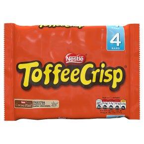 Toffee Crisp milk chocolate multipack