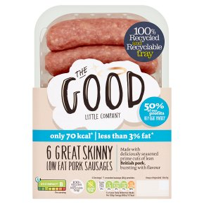 Good Little Company 6 Great Skinny Sausages
