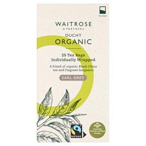 Waitrose Duchy Earl Grey tea bags 25s