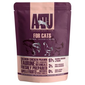 AATU for Cats Salmon, Chicken & Prawn