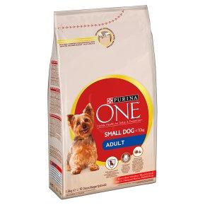 Purina ONE Adult Small Dog Food Beef