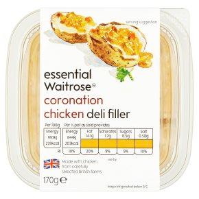 essential Waitrose Coronation Chicken Deli Filler