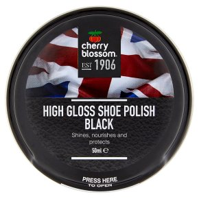 Cherry Blossom Polish Black