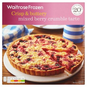 Waitrose Mixed Berry Crumble Tarte
