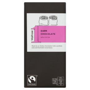 Waitrose 1 Dark Chocolate