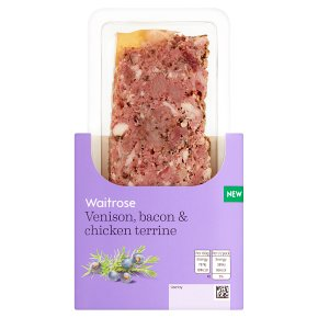 Waitrose Venison, Bacon & Chicken Terrine