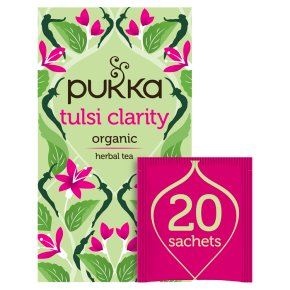 Pukka Tulsi Clarity 20Herbal Tea Sachets