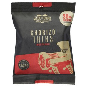 Made for Drink Chorizo Thins