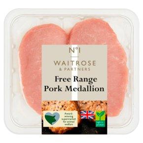 Waitrose 1 extra trimmed pork medallions