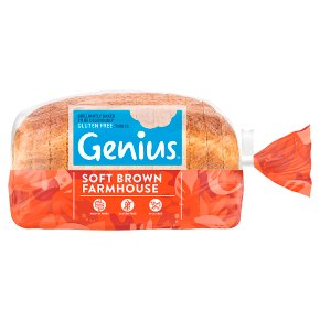 Genius Gluten Free Brown Sliced Bread