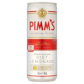 Pimm's with Diet Lemonade