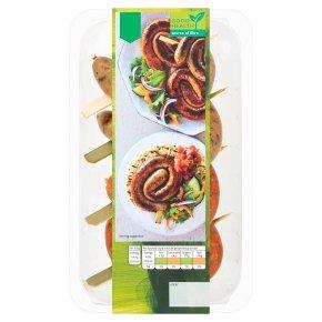 Waitrose 4 Vegan Whirls 2 Spanish 2 Italian