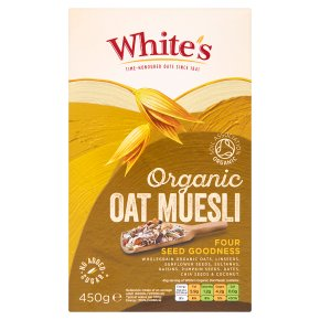 White's Oat Muesli Four Seed Goodness