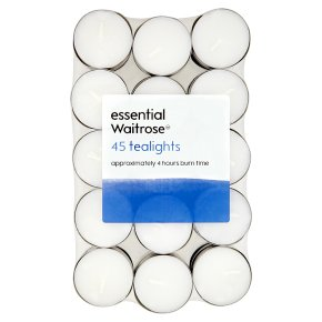 essential Waitrose Tealights