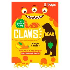 Bear Claws Mango & Carrot