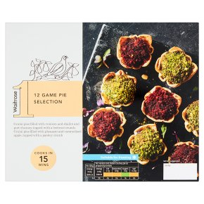 Waitrose 1 12 Game Pie Selection