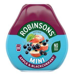 Robinsons squash'd apple & blackcurrant no added sugar