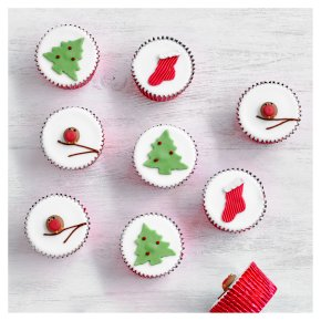 Fiona Cairns Festive Cupcakes