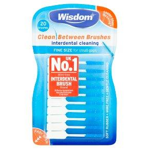 Wisdom Clean 20 Between Brushes