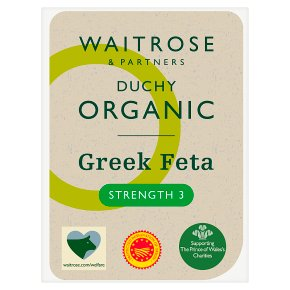 Waitrose Duchy Organic Feta cheese, strength 3