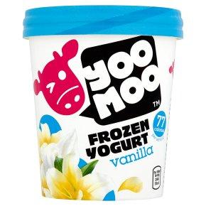 Yoo Moo frozen yogurt vanilla