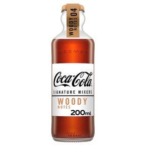 Coca-Cola Signature Mixers Woody Notes