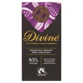 Divine Fairtrade 85% Dark Chocolate