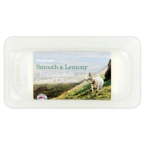 Waitrose British soft goats' cheese strength 2